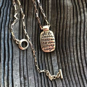 Retired Carolee Sterling Silver Necklace